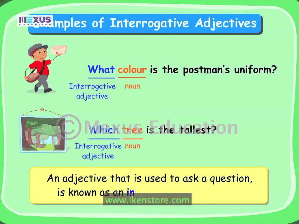 Distributive Adjectives Worksheets