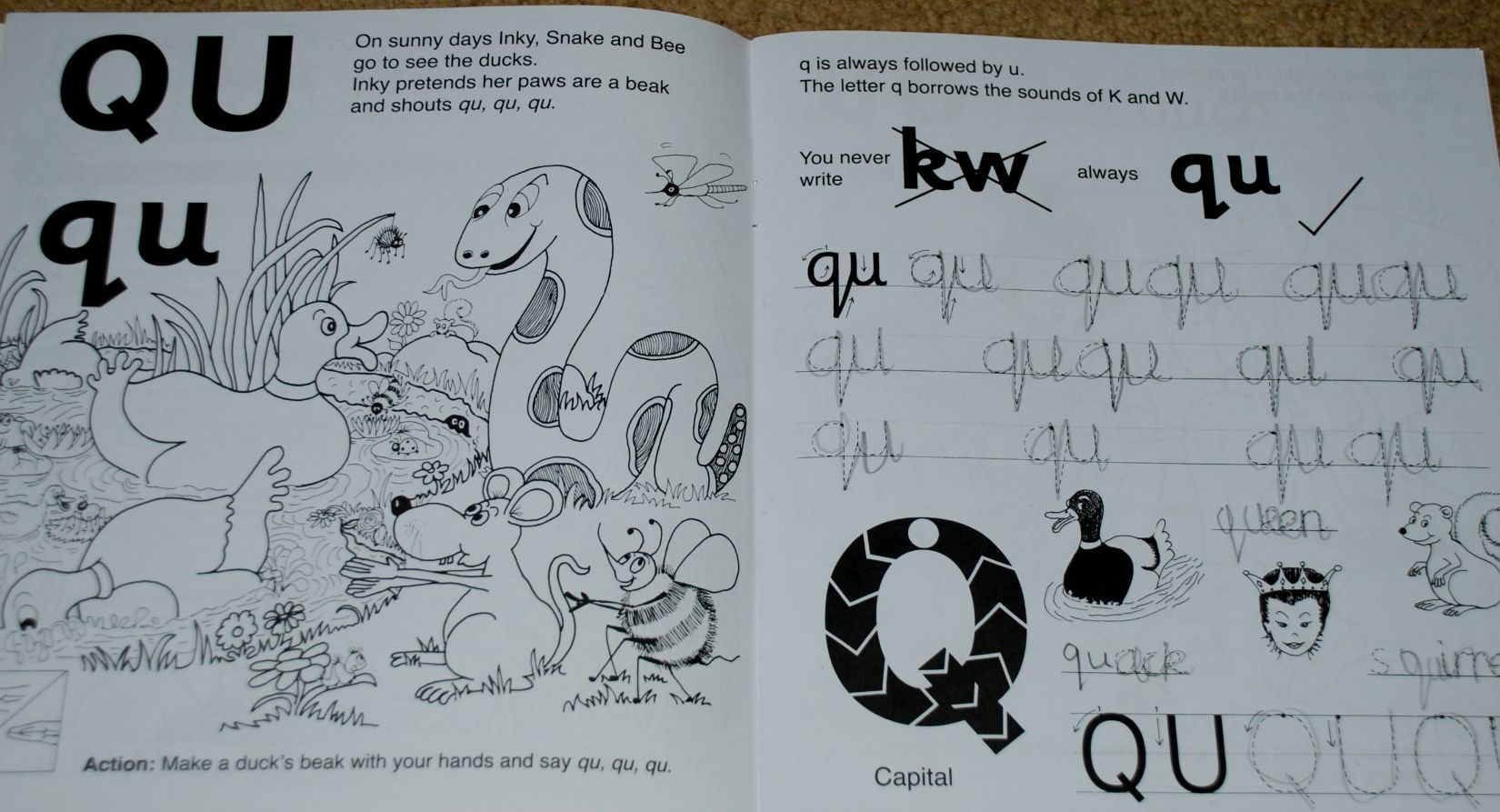 Jolly Phonics And Jolly Grammer Resources Worksheets Samples