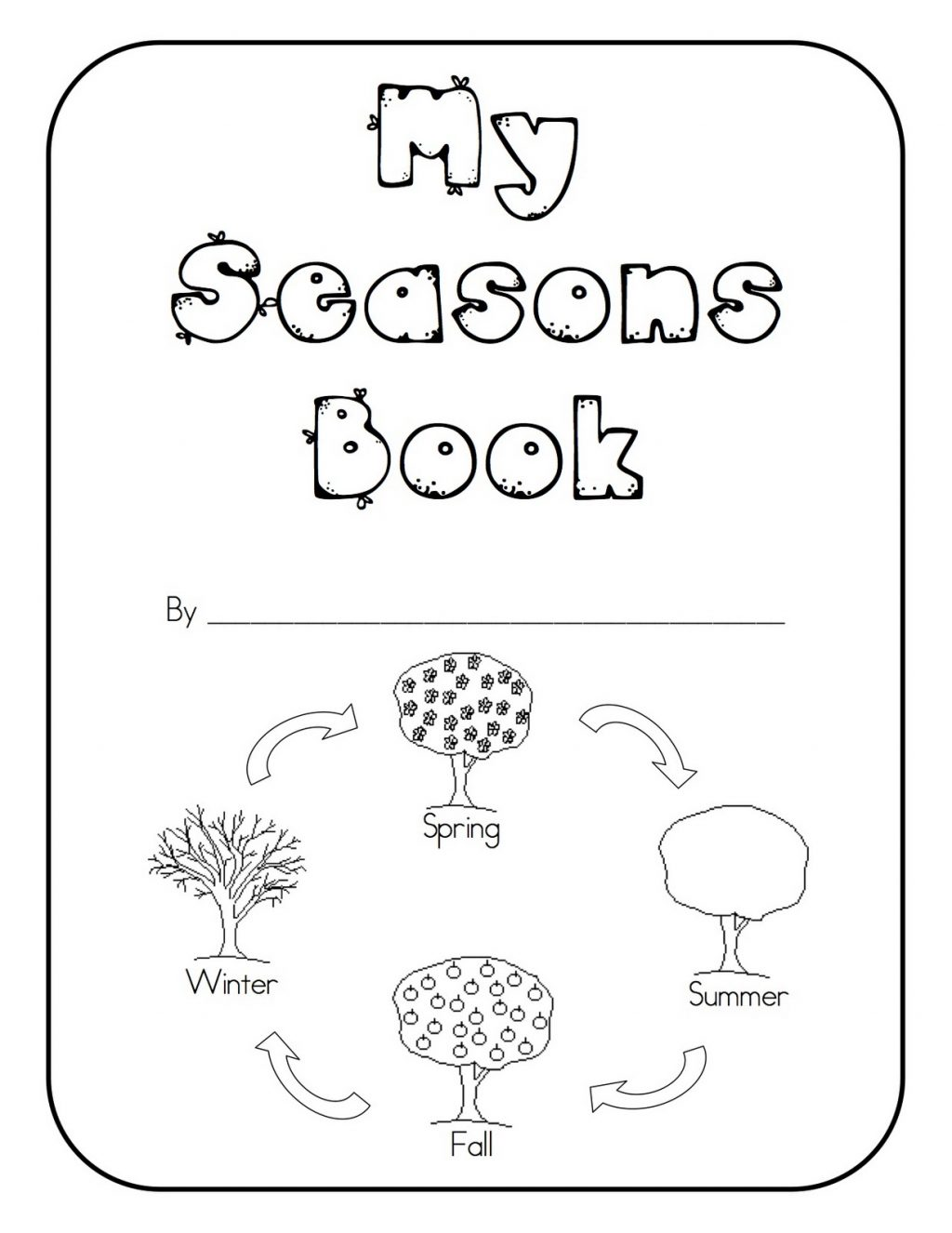 Mathsheets Kindertastic Seasons For Kindergarten