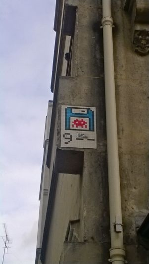 Space Invader en París