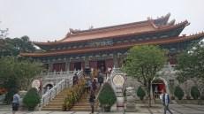 Recinto del Monasterio de Po Lin