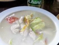 Tom Kha Gai (sopa de coco con pollo)