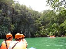 Cueva del río subterráneo