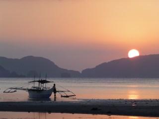 Playa de Corong-Corong, El Nido