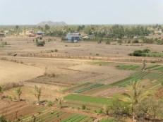Campo del sur de Camboya