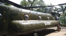 Museo de los vestigios de la guerra en HCMC