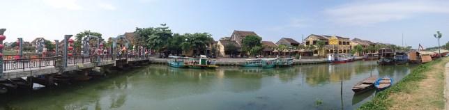 Hoi An, río Thu Bon