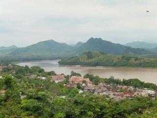 Vistas del Mekong desde Phou Si