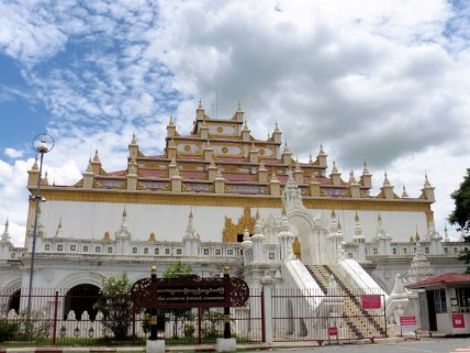 Monasterio Atumashi Kyaung en Mandalay