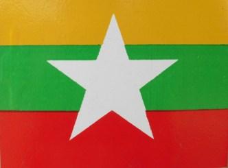 Bandera de Myanmar