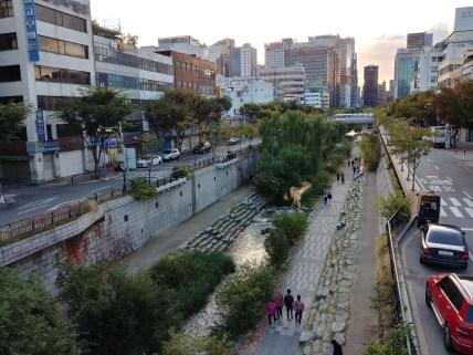 Paseo de Cheonggyecheon