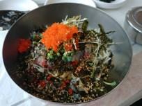 Hoedeopbap, bol de arroz con sashimi