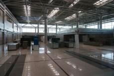 Estación de tren de Dorasan, vacía