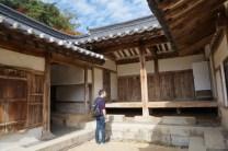 Habitaciones en la academia de Dosan Seowon