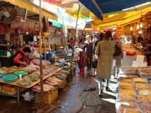 Mercado de Jagalchi en Busan