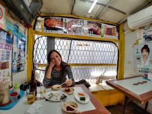 Pequeño restaurante en Jagalchi