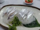 Sashimi de pez sable