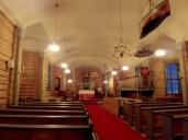Interior de la iglesia de Flakstad