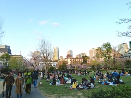 Parque Hinokicho, Tokyo