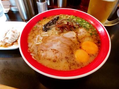 Tonkotsu ramen de Kumamoto