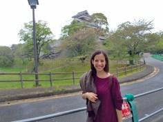 Alrededores del castillo de Kumamoto