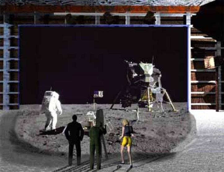 Resultado de imagen para moon fake landing