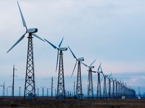 На Херсонщині введено в експлуатацію 12 вітрогенераторів вітряної електростанції