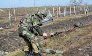 Українські сапери на Донбасі очистили від мін майже 4 тис га землі