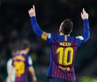 """Хет-трик Месси принес """"Барселоне"""" двадцатый выигрыш в Примере"""