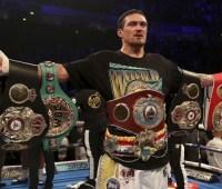 Усик поднялся в мировом рейтинге боксеров по версии ESPN