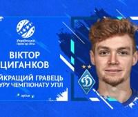 Определился лучший футболист 23-го тура Украинской Премьер-лиги
