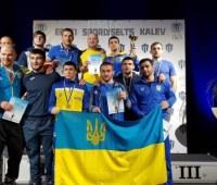 Украинские борцы завоевали три медали на турнире в Эстонии