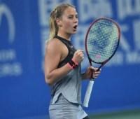 Теннисистка Костюк с победы стартовала в одиночном турнире в Швейцарии