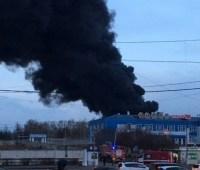 Пожар на заводе ракетно-космической техники в РФ локализовали
