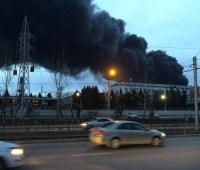 Пожар на заводе ракетно-космической техники в РФ ликвидировали