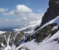 В польских Татрах выпал снег