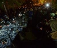 В Екатеринбурге арестовали более 20 участников акции против храма