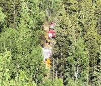 Небольшой самолет разбился в Канаде, двое погибших