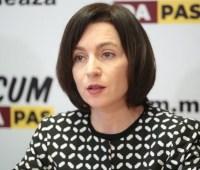 Премьер Молдавии Санду созвала заседание министров на 10 июня