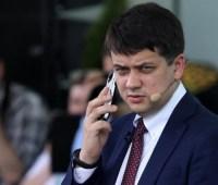 """Разумков обсудил с представителем ФРГ ситуацию вокруг """"Северного потока-2"""""""
