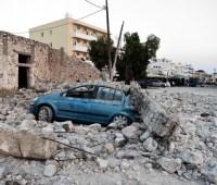 Недалеко от Албании произошло новое землетрясение