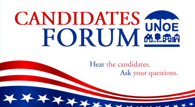Candidates' Forum – UNOE September General Meeting 2019