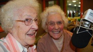 Beryl and Betty pip Scott to a Sony Radio nomination