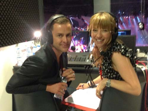 Scott to host Eurovision with Scissor Sisters star