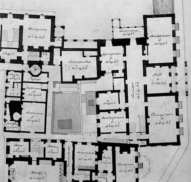 Clarence house unofficial royalty for Floor plans with interior photos