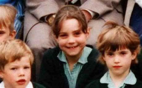 William_ young Kate Middleton