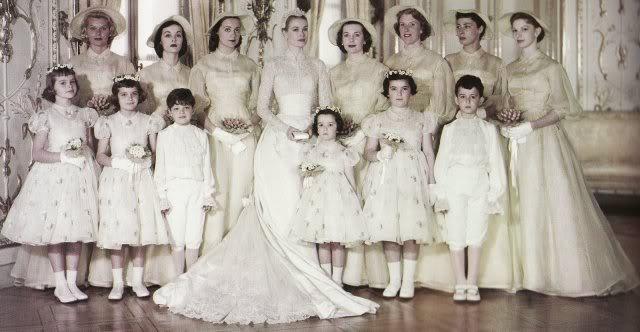 Wedding Of Prince Rainier Iii Of Monaco And Grace Kelly