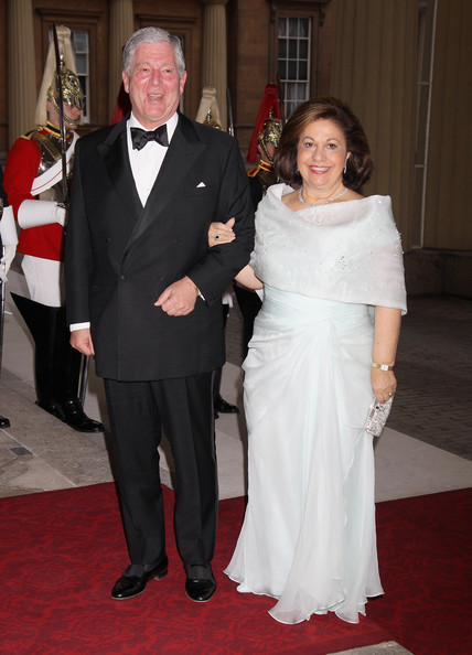 The Crown Prince and Crown Princess at Queen Elizabeth's Diamond Jubilee celebrations, 2012. photo: Zimbio
