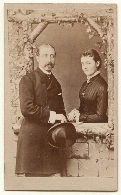 NPG Ax131371; Prince Arthur, 1st Duke of Connaught and Strathearn; Princess Louise, Duchess of Connaught after Unknown photographer