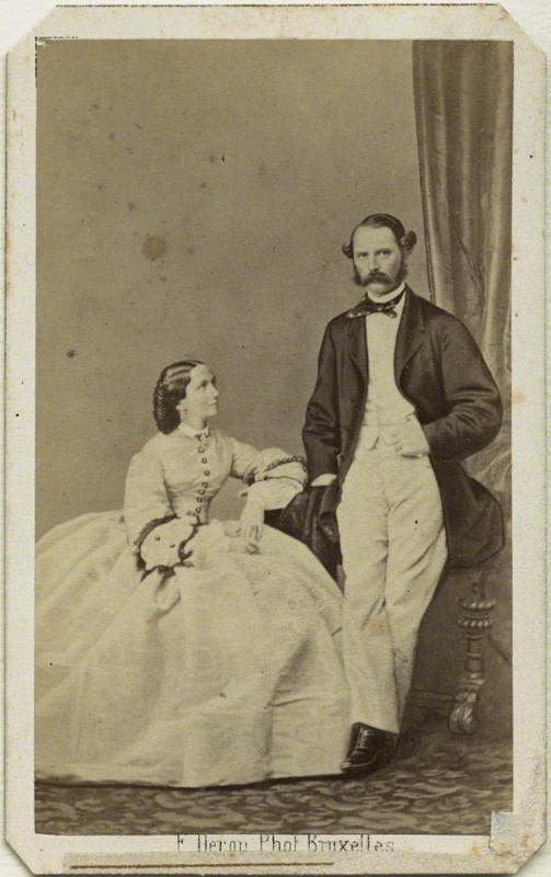 By FranAois Deron Albumen Carte De Visite Early 1860s